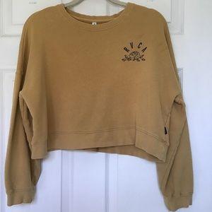 RVCA cropped sweatshirt